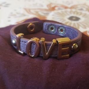 BCBG 'LOVE' bracelet